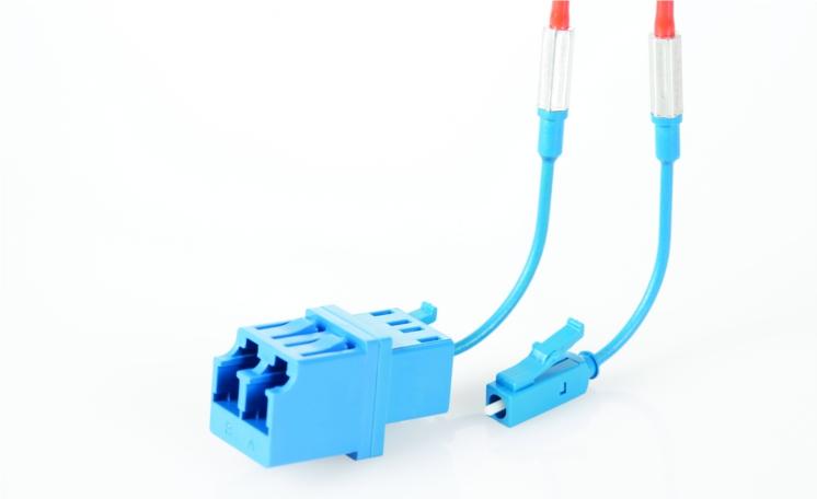 Angled Fibre Optic Connector - Alker: Fibre Optic Specialists